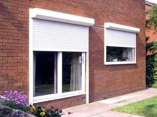 окна пластиковые металлические ставни роллеты